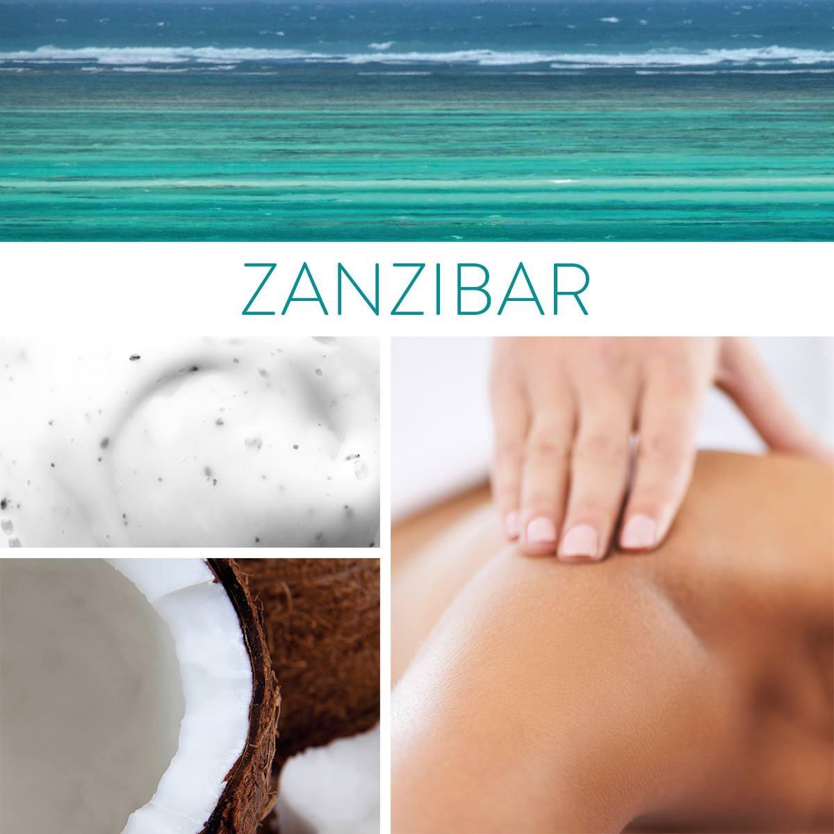 massage zanzibar phytocene , huile de coco