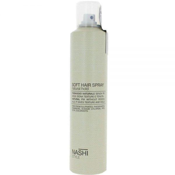 laque soft hair spray Nashi Argan