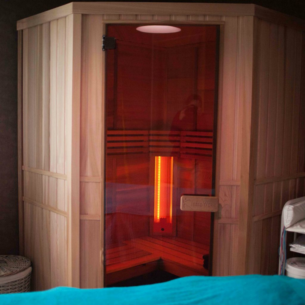 sauna , infrarouge