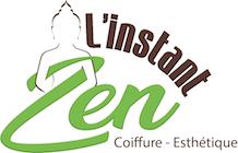 logo L'Instant Zen Coiffure Esthétique